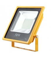 200W Yellow SMD LED Floodlight 6500K