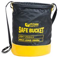 Python Standard safe bucket, load rating 113.4 kg (250 lbs), Hook and loop, Vinyl, 30L