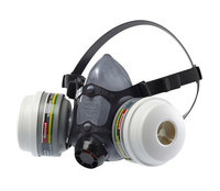 HONEYWELL NORTH N5500 Half Face Mask Respirator -Twin