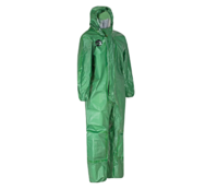 Alphachem X100 Green Disposable Coverall