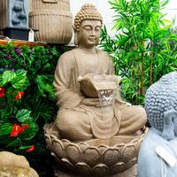 Buddha Sitting Water Feature - 112.5cm