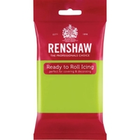 RENSHAW READY TO ROLL ICING LIME GREEN (1 x 250g)