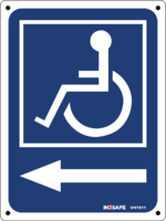 Disabled Logo Direction Left