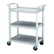 Cambro Trolley 3 Tier L/D Black 835x413x965mm High