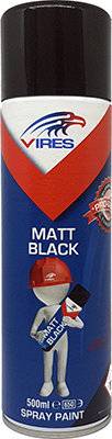 Vires Matt Black 500ml