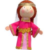 Maid Marion Finger Puppet
