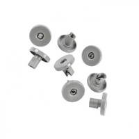 Electrolux Dishwasher Lower Basket Wheel 8 Pack Genuine