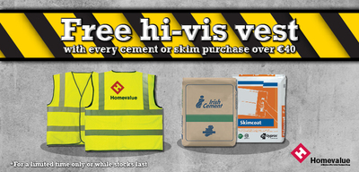 Homevalue Campaign - Free Hi-Vis Vests Promotion