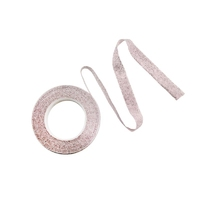 FTG209 PALE PINK SILVER GLITTER TAPE 11x15x1.5