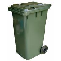 120L Wheely Bin Dark Green