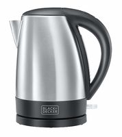 BLACK & DECKER JUG KETTLE STAINLESS STEEL 1.7 LITRE