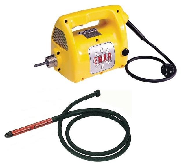 Enar Electric Concrete Vibrator 110v C W 4m 48mm Poker