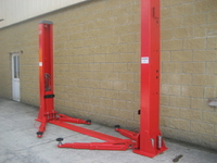 TARANTO 2 Post Car Lift 5 Ton Capacity 230v Electric Release  T25E
