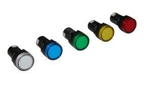 PILOT LIGHT LED 230V YELLOW
