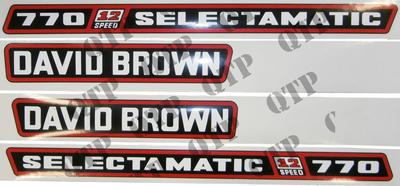 Decal Kit - David Brown 770