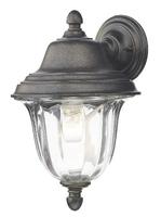 Aldgate Wall Light Outdoor IP44, Black Gold | LV1802.0151