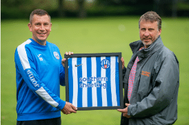 Southern Sheeting helps club celebrate 125 years of football history