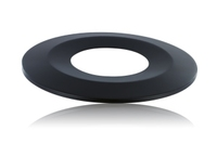 Black Bezel for Low-Profile Fire Rated Downlight