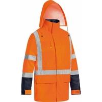 Bisley Hi Vis TTMC-W  5n1  Jacket/Vest Combo