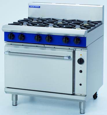 Blue Seal G56D 6 Burner Gas Convection Oven Range 900 x 812 x 1085mm