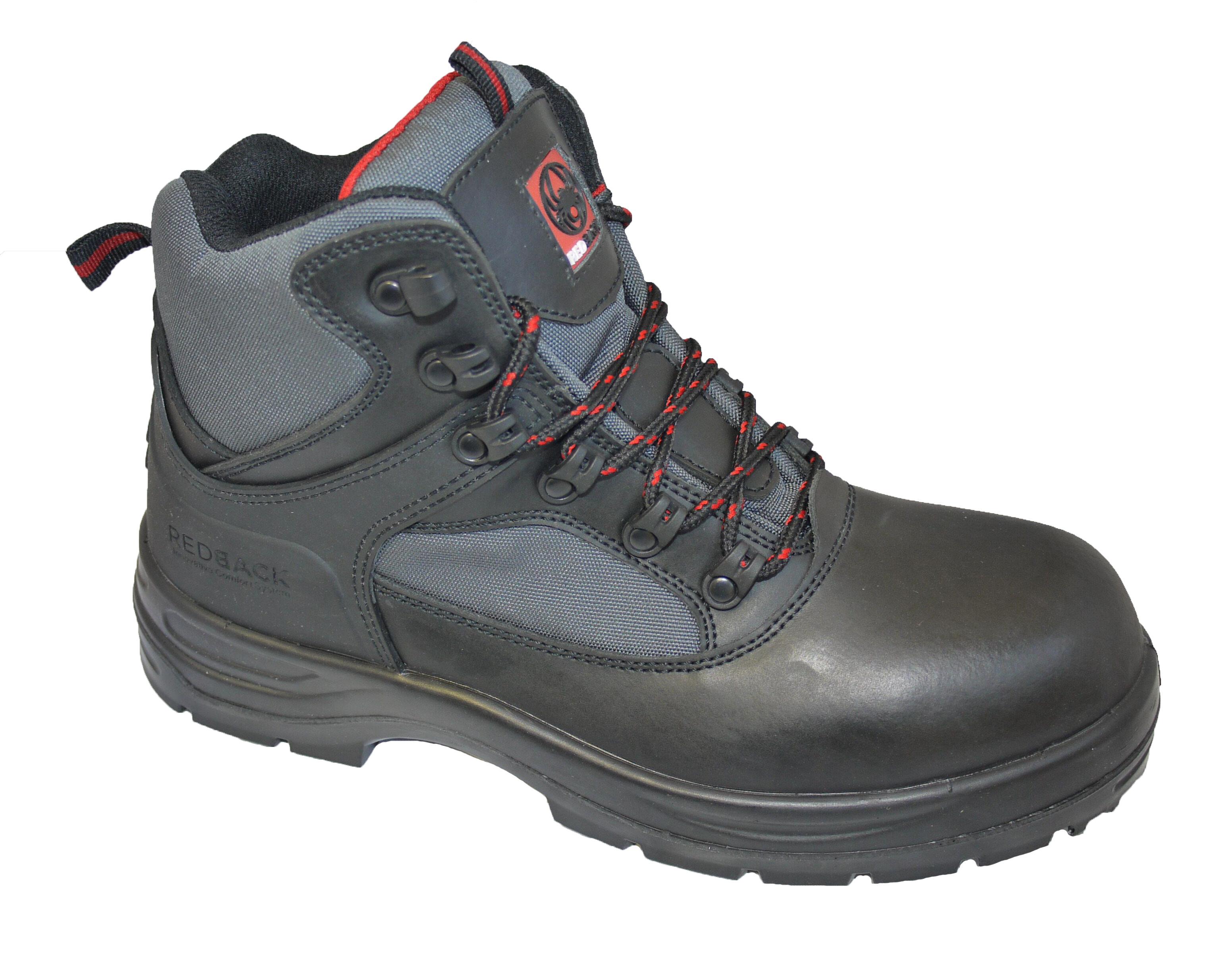 REDBACK Pioneer Black Boot S3 CI SRC (Composite Toecap)