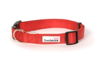 Doodlebone Adjustable Bold Collar Medium - Red x 1