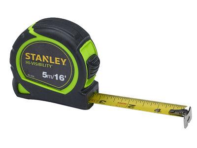 Stanley 5m (16ft) Hi-Vis Tape
