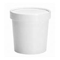 Combo Soup Cup/Lid 12OZ