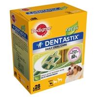 Pedigree Dentastix Fresh Small 28 Stick x 4