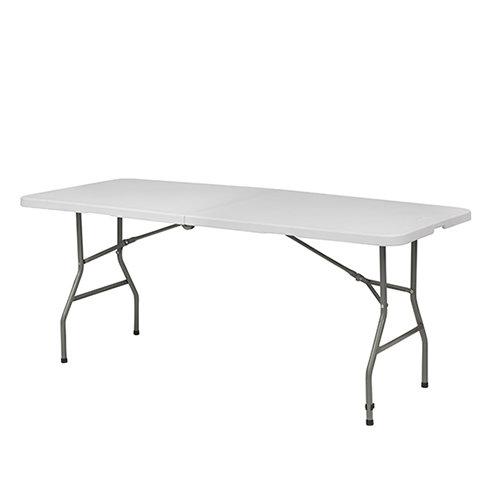 White Folding Picnic Table -1.8M