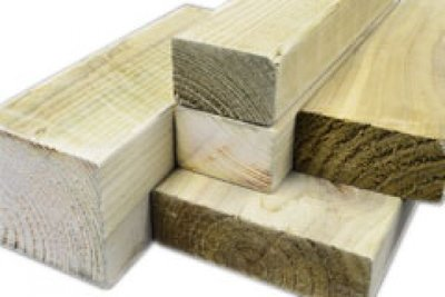 White Deal Rough 3 Inch X 2 Inch X 8ft