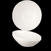 Melamine Buffet Tilt Bowl White 25cm 35.2oz Carton of 4