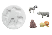 Savannah silicone moulds