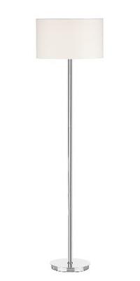 Tuscan Floor Lamp Base Only Polished Chrome | LV1802.0150