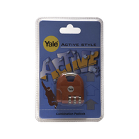 YALE COMBINATION NOVELTY PADLOCK