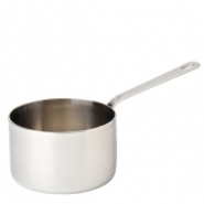 Mini Stainless Steel Presentation Pan 7cm Carton of 6