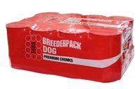 Breederpack Premium Dog Chunks Large 400g x 12