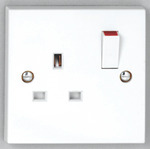 DETA VIMARK FLUSH SWITCHED SOCKET 13 AMP 1 GANG