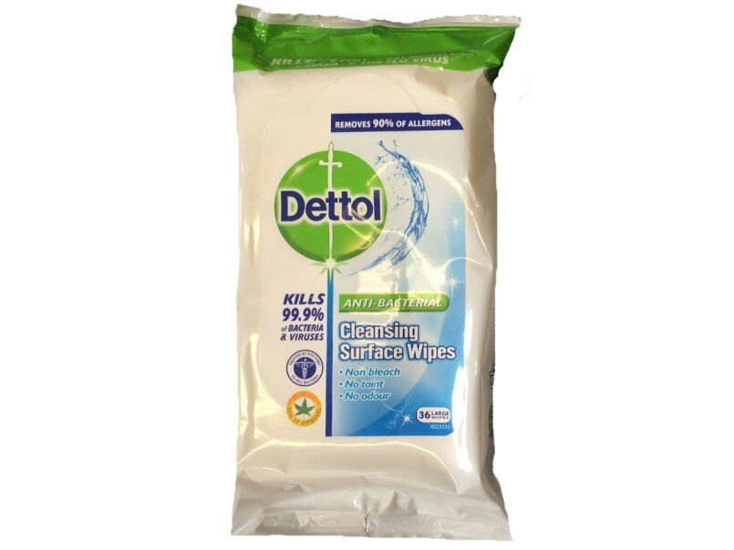DETTOL Anti-Bac Multi Surface Wipes (Pack of 36)