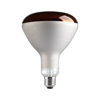 GE 250W InfraRed Reflector Lamp Red E27