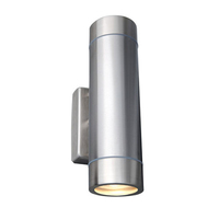 Robus Tralee GU10 Up/Down Wall Light Brushed Chrome