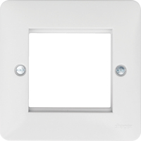 Euro Style Accommodation Plate 2 Modules | LV0301.0746