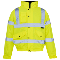 Hi Vis Bomber Jacket EN471 Yellow