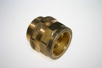 Compression Male Coupler 1 1/4 inch 311
