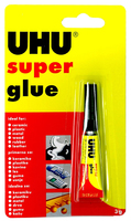 U40755 UHU SUPER GLUE 3GM