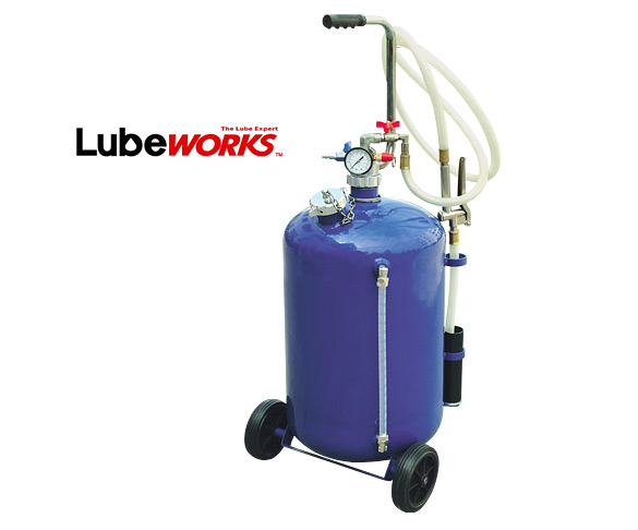 Lubeworks Pneumatic Oil Dispensor 30 Litre Pod030 Pd30
