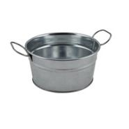 Galvanised Steel Serving Bucket 15x8cm