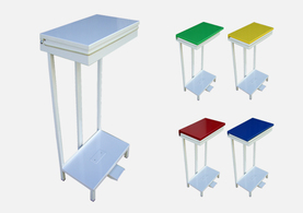 Open Type Pedal Bin & Wire Stands