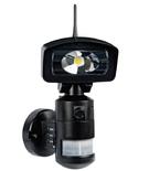NIGHTWATCHER LED ROBOTIC LIGHT & WIFI HD CAMERA 4GB SD -BLACK