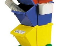 waste recycling container
